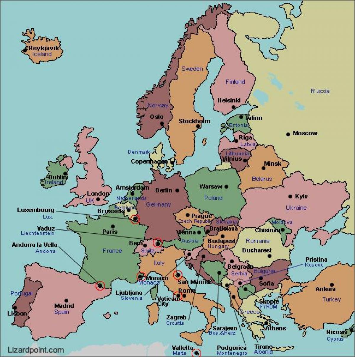 Bucharest Map Europe Map Of Bucharest Europe Romania